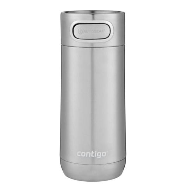 Термокружка Contigo Luxe серебристого цвета 360мл