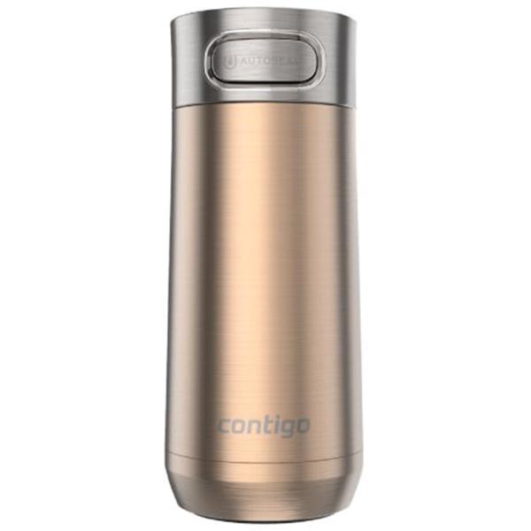 Термокружка Contigo Luxe золотистого цвета 360мл