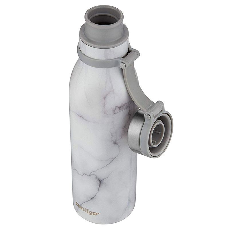 Термобутылка Contigo Matterhorne Couture 590мл с мраморным узором