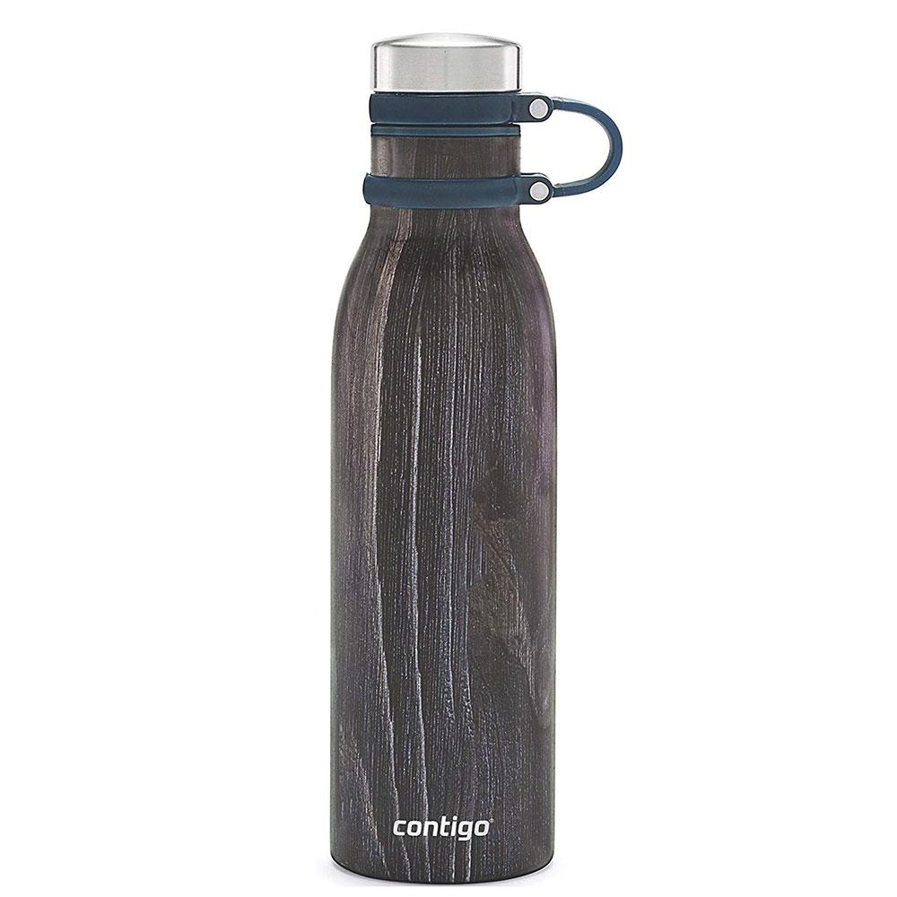 Термобутылка Contigo Matterhorne Couture 590мл серого цвета