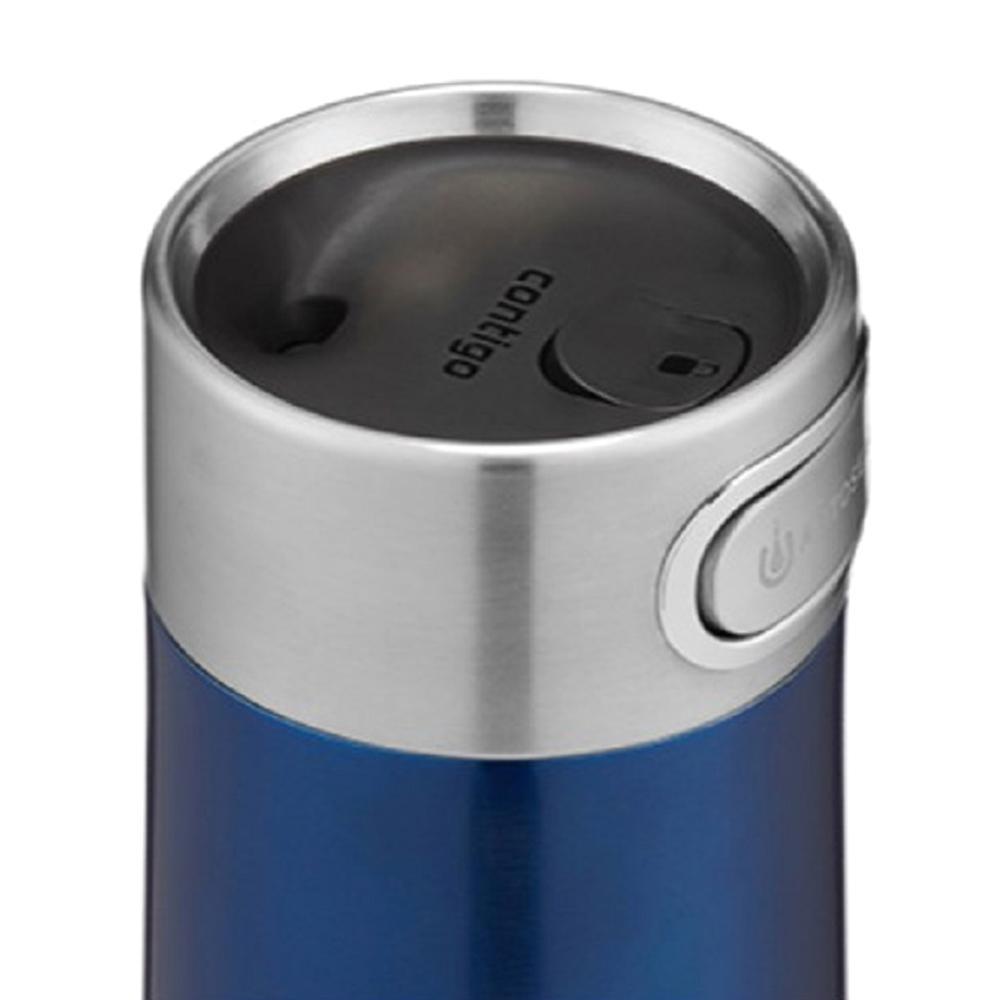 Термокружка Contigo Luxe синего цвета 360мл