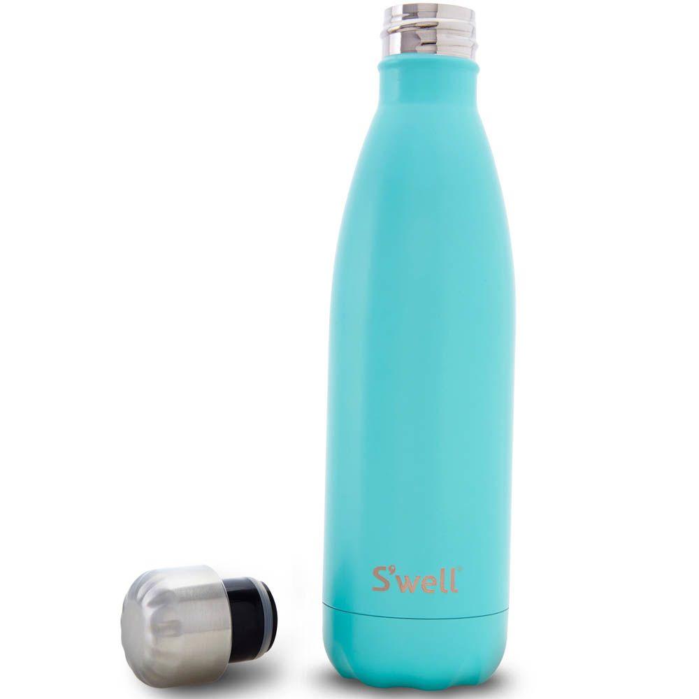 Термо-бутылка Swell Bottle Turquoise Blue 260 мл