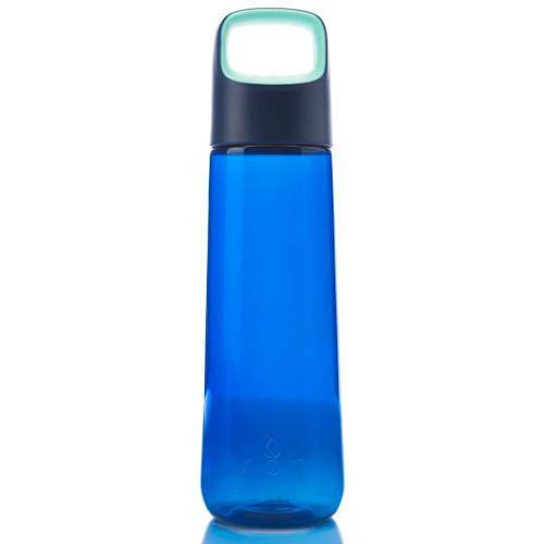 Бутылка Korwater Aura Aqua Splash синяя объемом 750 мл