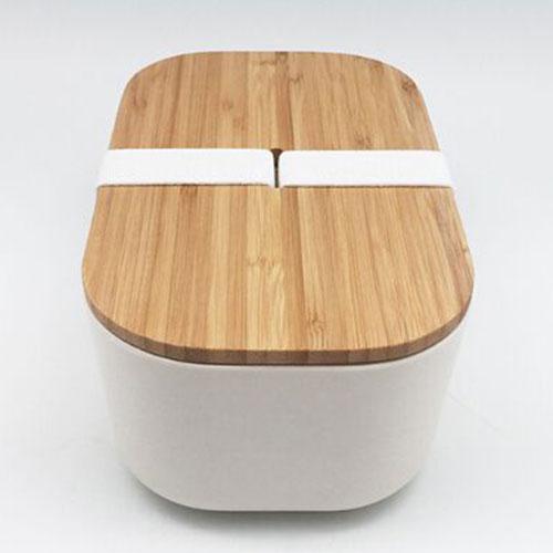 Бежевый ланч-бокс Be Different Bamboo Box