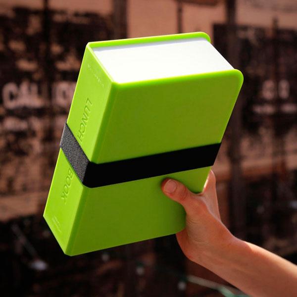 Ланч-бокс прямоугольный Black+Blum Box Book с зеленым