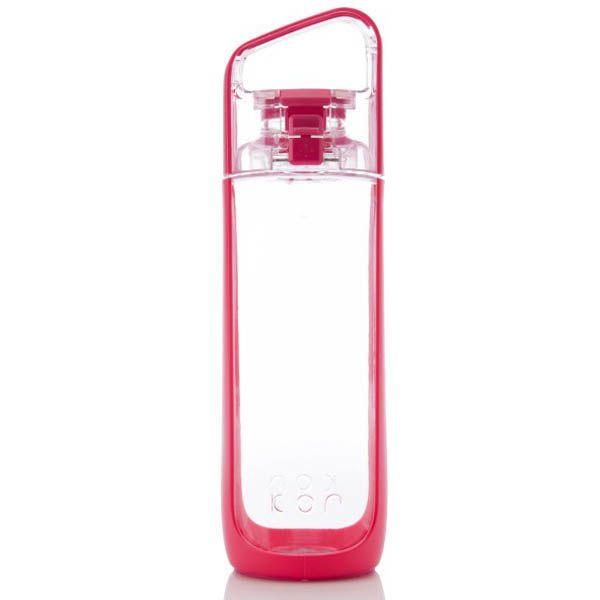 Бутылка Korwater Delta 500 Atomic Punch ярко-розового цвета
