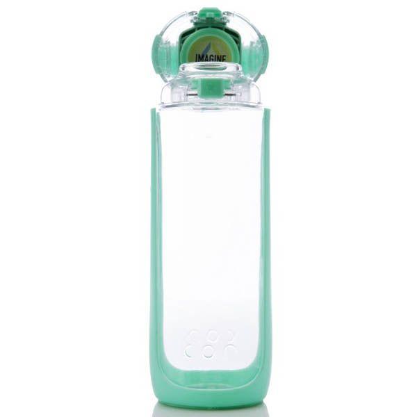 Бутылка Korwater Delta 500 Atomic Punch мятного цвета