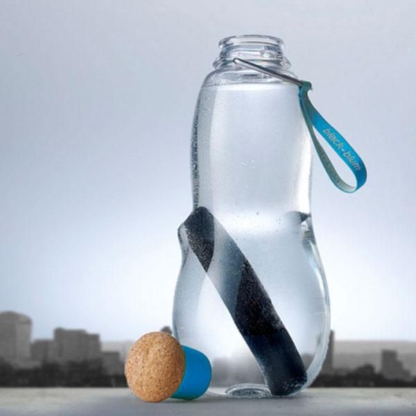 Эко-бутылка Black+Blum Eau Good с синим
