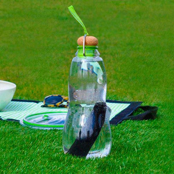 Эко-бутылка Black+Blum Eau Good с зеленым