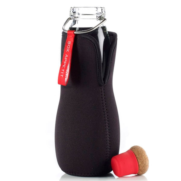 Эко-бутылка стеклянная Black+Blum Eau Good красный
