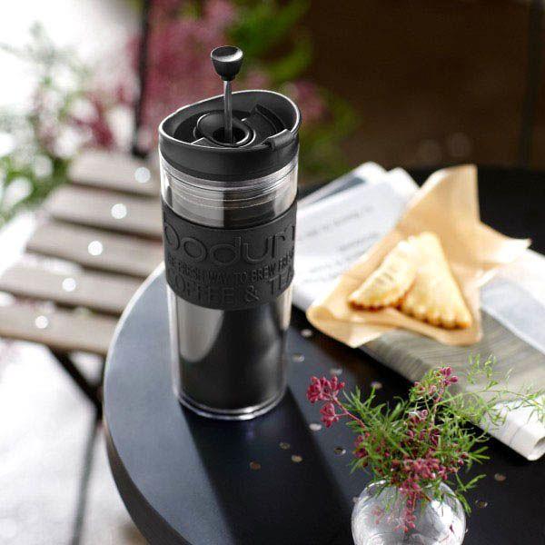 Кофейник Bodum Travel Press френч-пресс черный 0,35 л