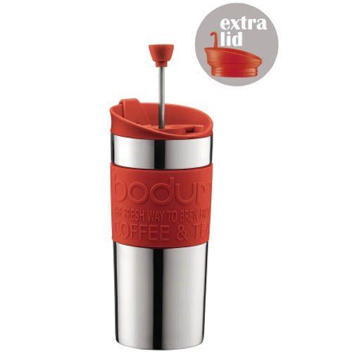 Кофейник Bodum Travel Press френч-пресс красный 0,35 л