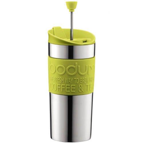 Кофейник Bodum Travel Press френч-пресс зеленый 0,35 л