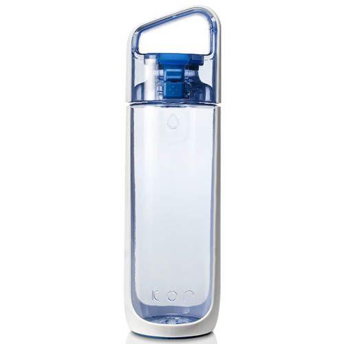 Бутылка Korwater Delta750 мл голубого оттенка