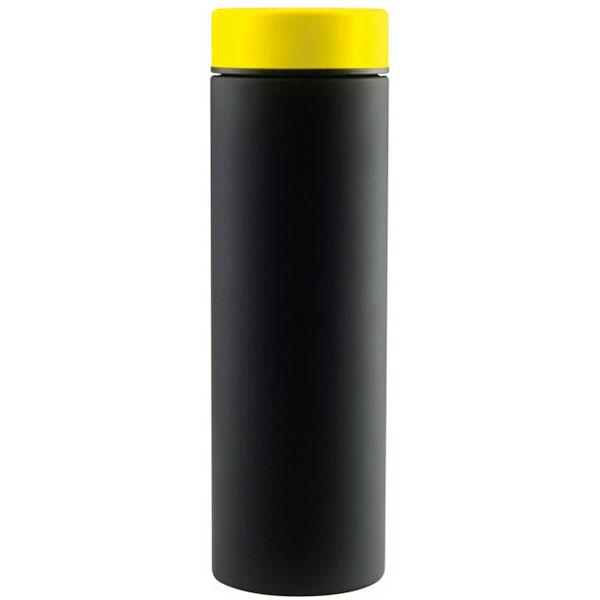 Термос Asobu Le Baton 0,5л черный с желтым