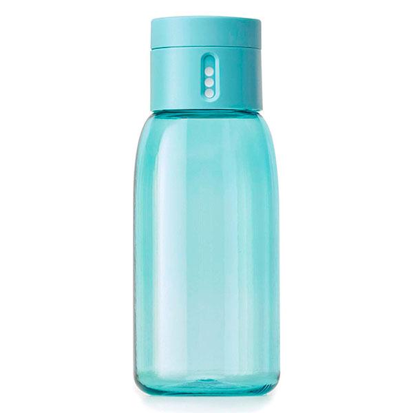 Бутылка для воды Joseph Joseph Dot Hydration с индикатором голубая