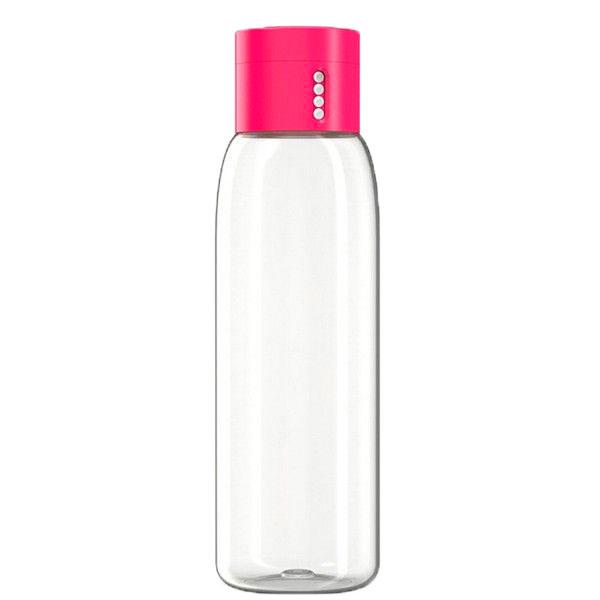 Бутылка для воды Joseph Joseph розовая с индикатором 0,6л