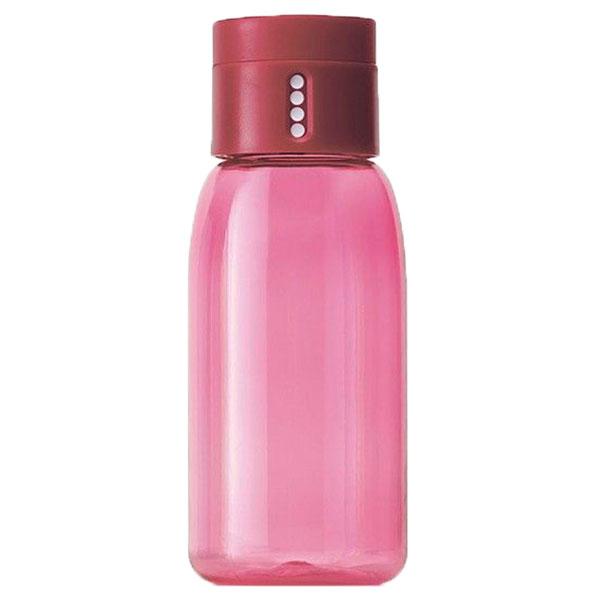 Бутылка для воды Joseph Joseph Dot Hydration розовая с индикатором