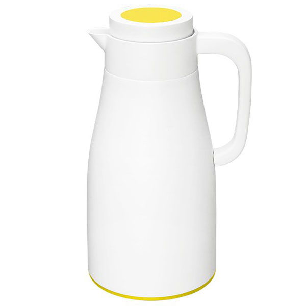 Термос PO Selected Evo-Dewar Vacuum белый с желтым