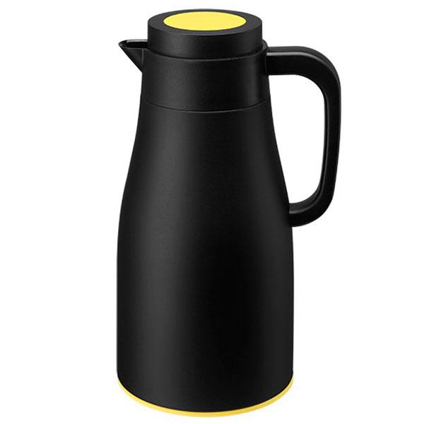Термос PO Selected Evo-Dewar Vacuum черный с желтым