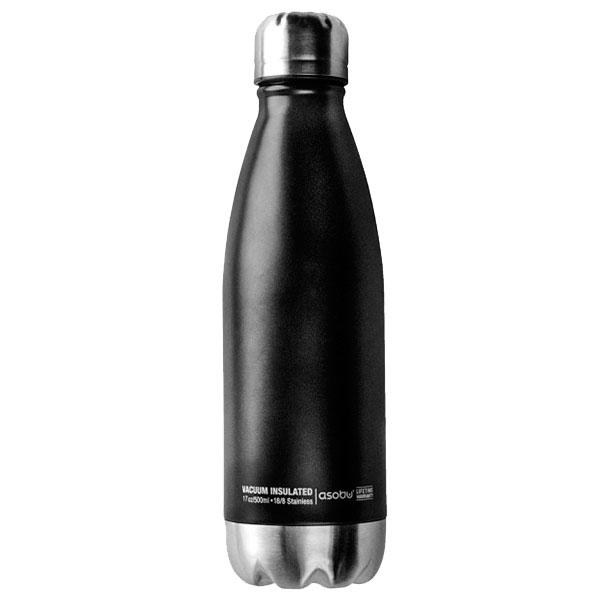 Черная термобутылка Asobu Central Park 510мл