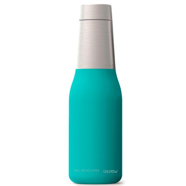 Термобутылка Asobu Oasis бирюзового цвета 590мл