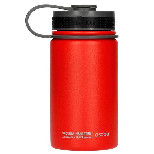 Красная термобутылка Asobu Mini Hiker