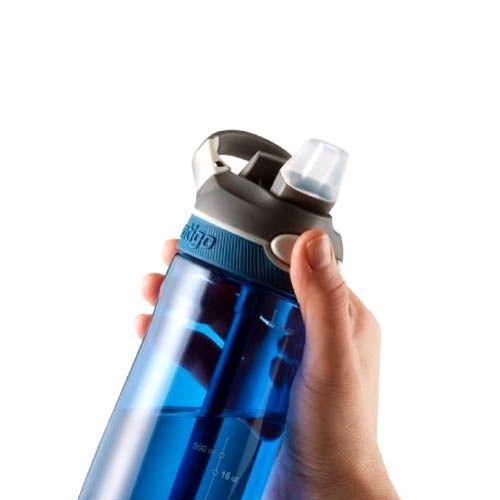 Спортивная бутылка Contigo Ashland объемом 720 мм синего цвета, фото