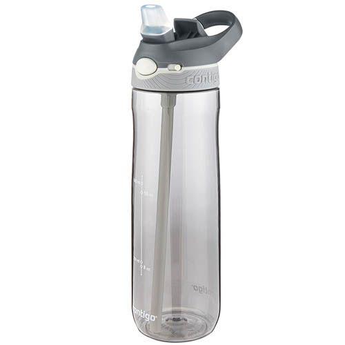 Спортивная бутылка Contigo Ashland объемом 720 см серого цвета, фото