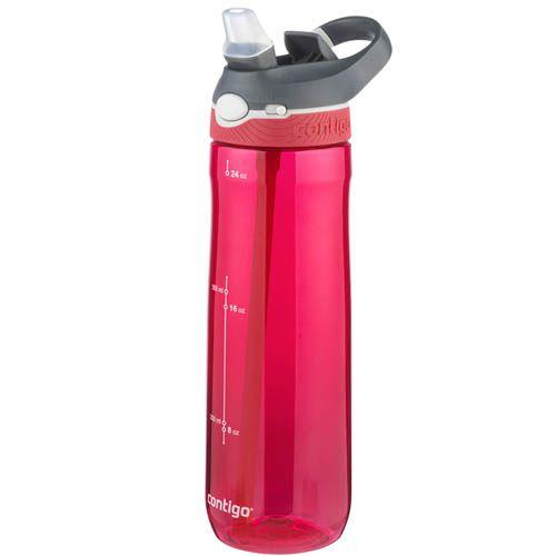 Спортивная бутылка Contigo Ashland объемом 720 см красного цвета, фото