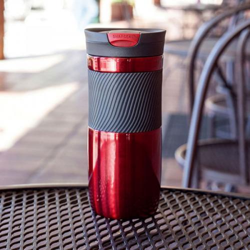 Термокружка Contigo Byron 16 красного цвета 470мл, фото