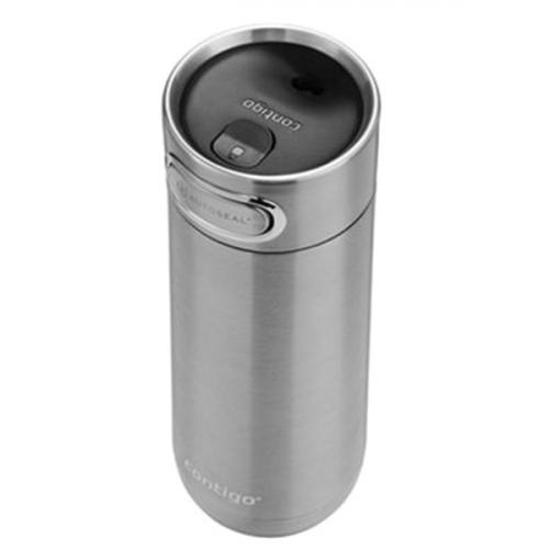 Термокружка Contigo Luxe серебристого цвета 360мл, фото