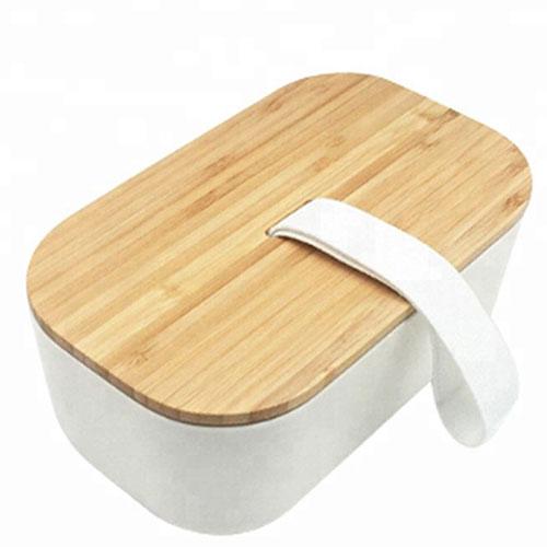 Бежевый ланч-бокс Be Different Bamboo Box, фото