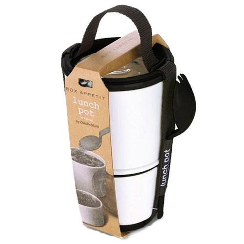 Ланч-бокс Black+Blum Lunch Pot белый , фото