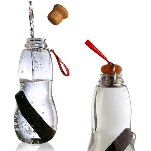 Эко-бутылка Black+Blum Eau Good с красной лентой, фото