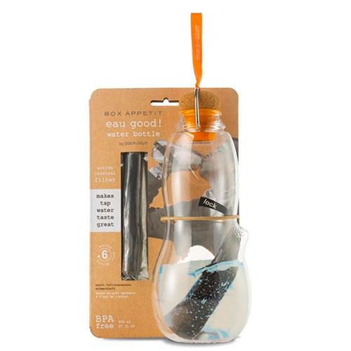 Эко-бутылка Black+Blum Eau Good с оранжевым, фото