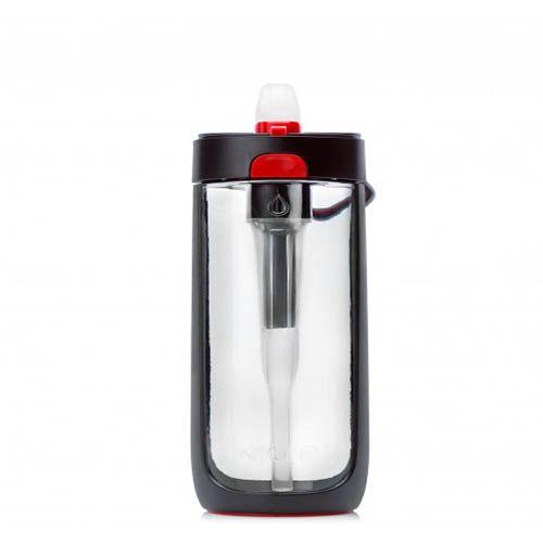 Бутылка Korwater Nava650 мл черная с красным, фото