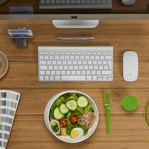 Ланч-бокс круглый Black+Blum Lunch Bowl, фото