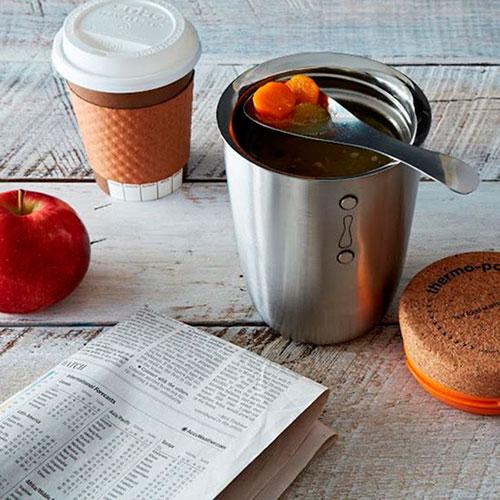 Термо-контейнер стальной Black+Blum Thermo Pot, фото