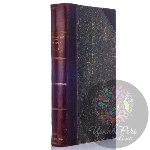 Антикварная книга «Теория права и государства», Петражицкий Л. (1907 г.) , фото