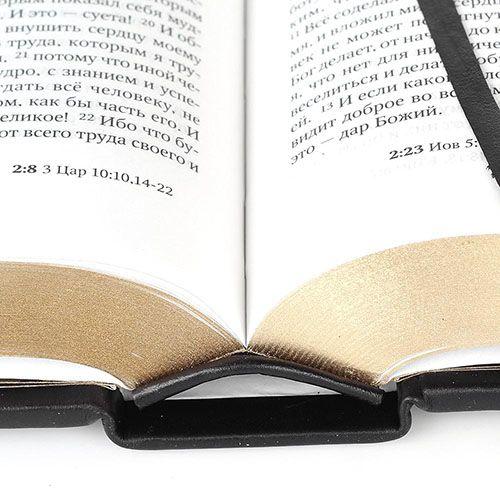 Библия Златая с иконой, фото