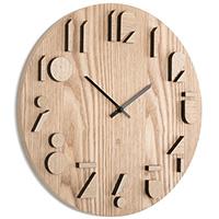 Настенные часы Umbra Shadow из дерева, фото
