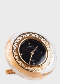 Настольные часы Faberge Rock Crystal их хрусталя, фото