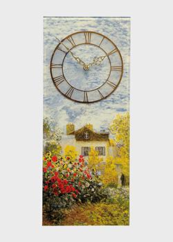 Настольные часы Goebel Artis Orbis The Artist's House 23см с рисунком, фото