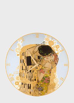 Настенные часы Goebel Artis Orbis The Kiss 30,5см с рисунком, фото