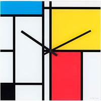 Настенные часы Next Time Time Lines квадратной формы, фото