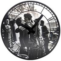 Настенные часы Next Time Kiss me in Paris, фото