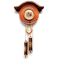 Настенные часы Capanni  с гиревой системой, фото