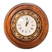 Настенные часы Capanni с витиеватым узором, фото