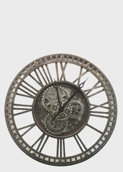 Часы большие металлические Skeleton Clocks в стиле лофт, фото